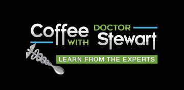 coffee with dr stewart podcast logo
